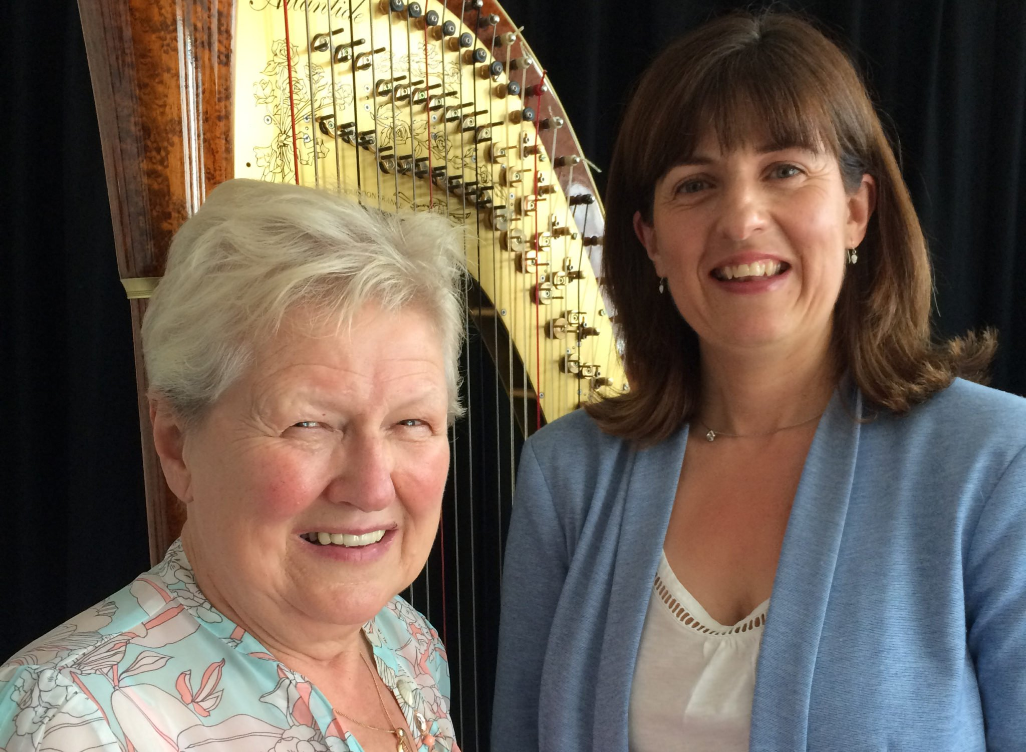 Catrin Morris Jones as new Wales International Harp Festival Organiser