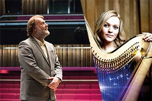 Wales International Harp Festival launch concert by Sir Bryn Terfel sells out in an hour and 15 minutes!