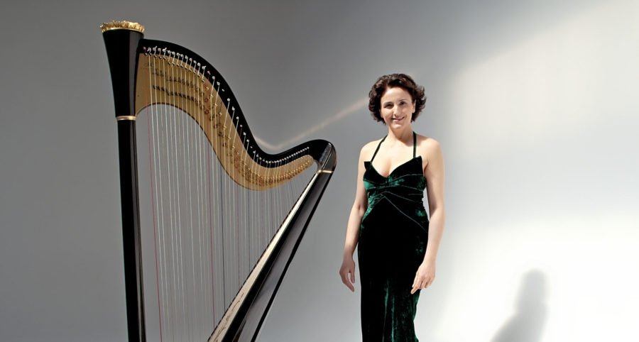 Top harpist dedicates performance to Catrin Finch who's battling cancer