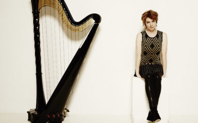 Former royal harpist keeps promise to festival after recovering from cancer