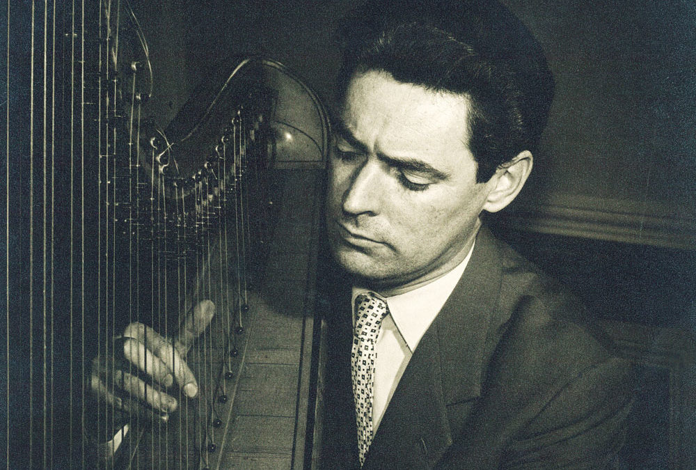 Festival goes virtual to pay homage to harp legend Osian Ellis